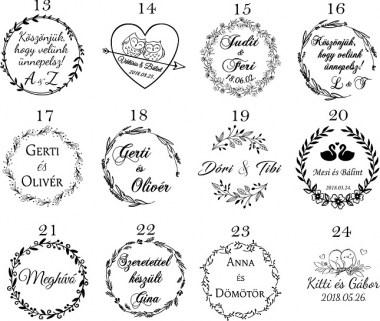 esküvőikereknyomda24_380x380 Esküvői nyomda pecsét bélyegző | MeDáLia - Egyedi Ajándéktárgyak