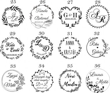 esküvőikereknyomda31_380x380 Esküvői nyomda pecsét bélyegző | MeDáLia - Egyedi Ajándéktárgyak