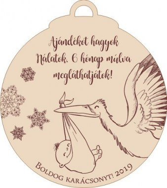 karinévakrilfa20196_380x380 Bababejelentő karácsonyfadísz | MeDáLia - Egyedi Ajándéktárgyak