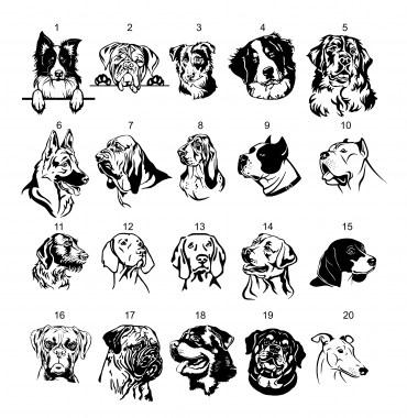 kutyatáblaAkutyaharapMINTA_380x380 Nemesacél kutyás tábla | MeDáLia - Egyedi Ajándéktárgyak